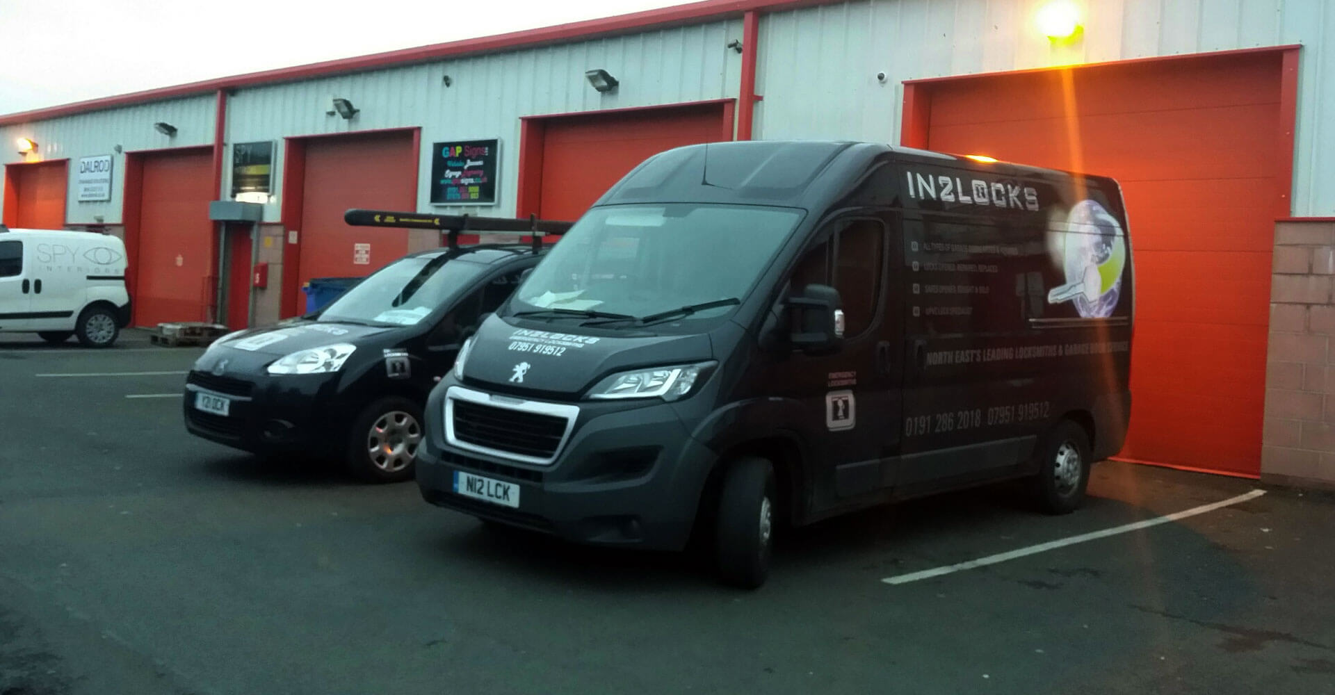 Newcastle Garage Doors & Shutters Ltd